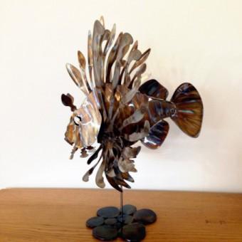 BALISTE A RIDES BLEU - BLUE TRIGGER FISH
